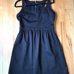 Cynthia Rowley Black Fit & Flare Dress Size Large